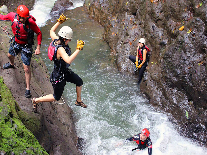 Canyoning Costa Rica Gravity Falls Arenal