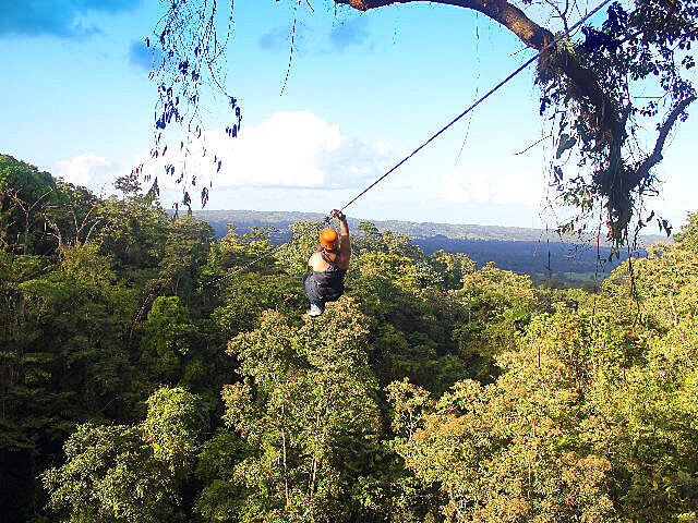 Arenal Combo Tours Canyoneering and Canopy