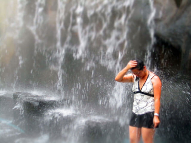 Arenal Hot Springs Waterfall