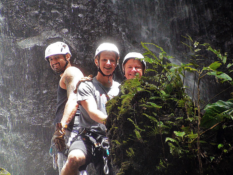Canyoneering Arenal Costa Rica Solo Vacation