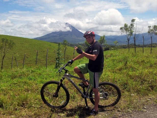 Mountain Biking Arenal Costa Rica
