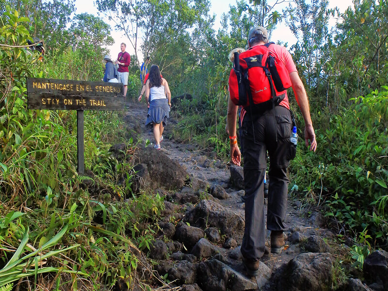 Hiking Arenal National Park