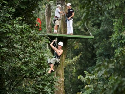 canopy zipline tour package costa rica