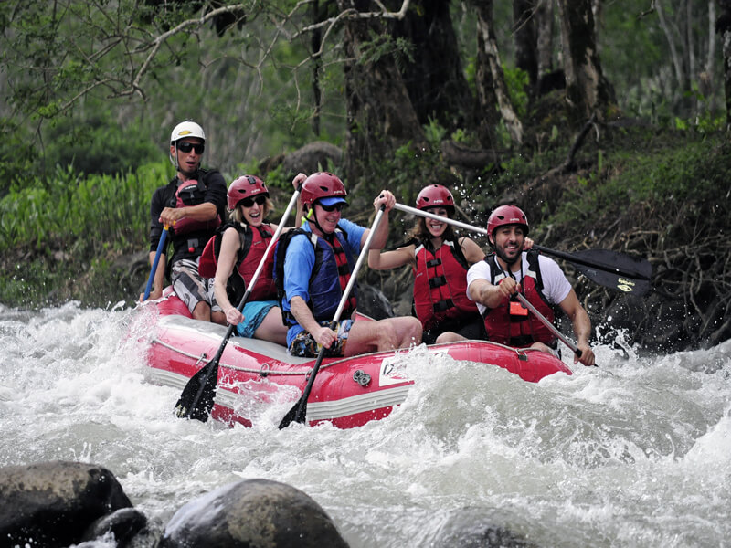 rafting tour package costa rica