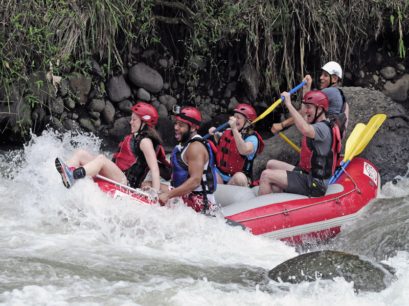 Whitewater Rafting Arenal