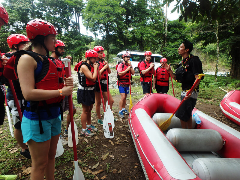 Whitewater rafting Rio Sarapiqui