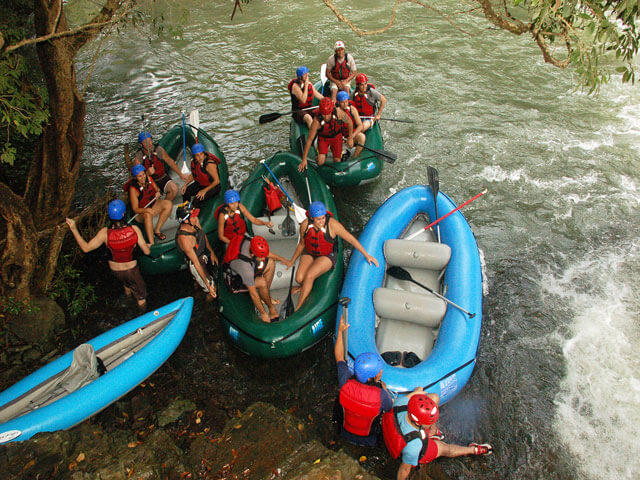 Rafting on Rio Tenorio Costa Rica