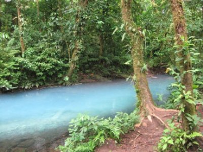 Rio Celeste Blue River