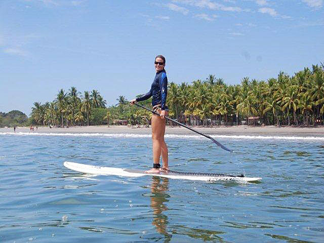 Stand Up Paddle Samara Beach in Costa Rica