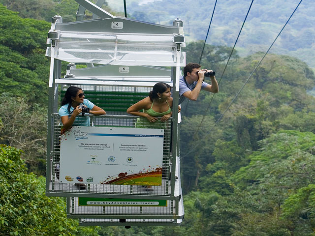 Skytram near Arenal Costa Rica