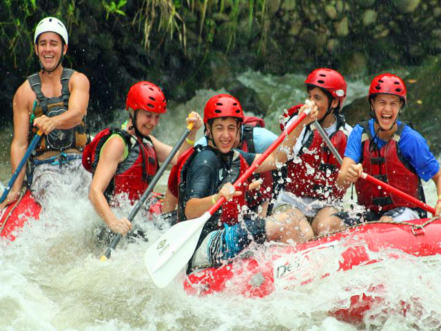 Whitewater Rafting near Arenal Costa Rica