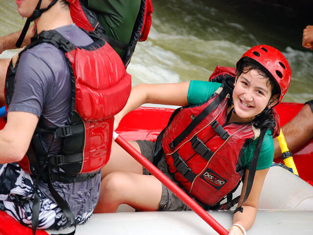 Rio Balsa Whitewater Rafting Fun for all