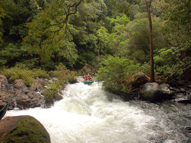 Whitewater Rafting on Rio Tenorio