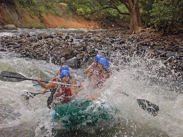 Serious Fun Whitewater Rafting in Costa Rica