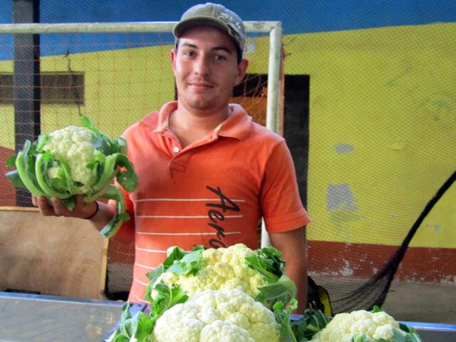 Market in Santa Elena Costa Rica