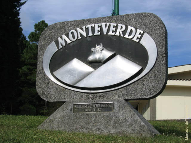 the Monteverde Cheese Factory