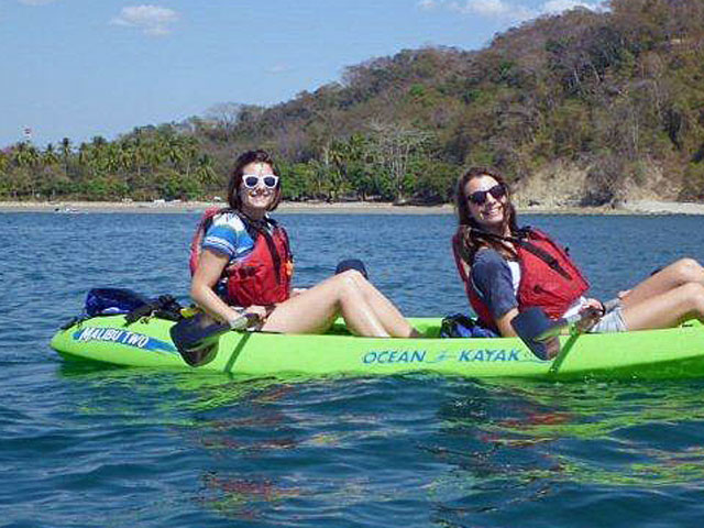 kayaking and Snorkeling Costa Rica