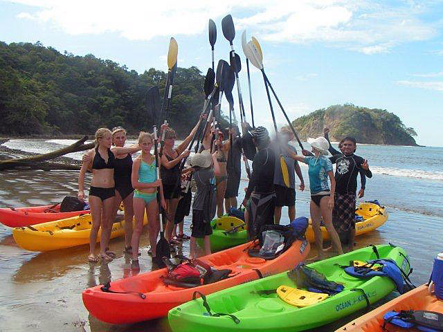 Kayaking Tour Samara Costa Rica