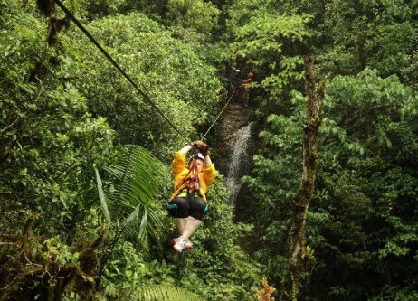 Canopy Tour San Jose Costa Rica