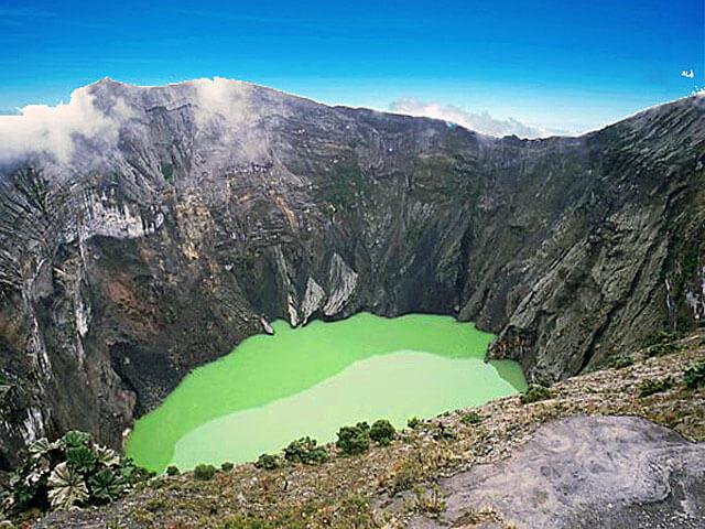 Irazu Volcano San Jose Costa Rica