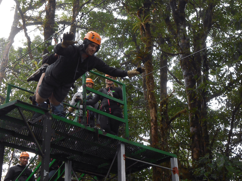 Adventura Canopy Tour Monteverde