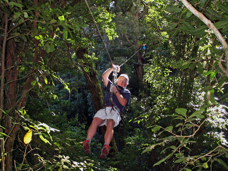 Ziplining with Original Canopy Tour