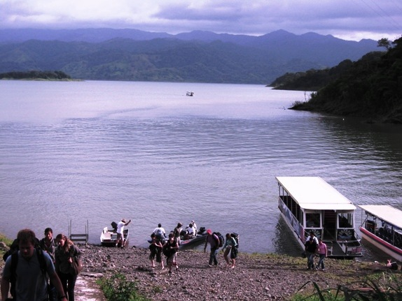 Arenal Lake taxi-boat-taxi