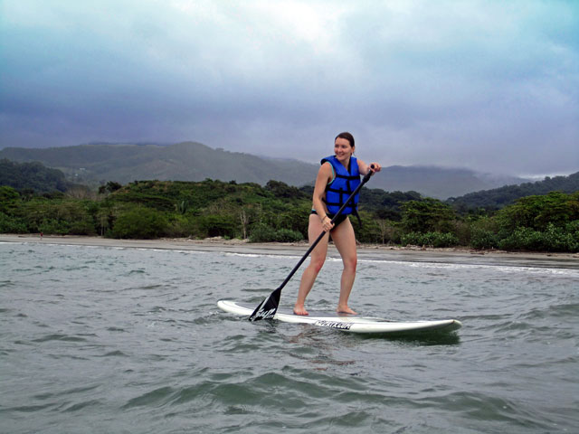 Samara Beach Actvities! Stand Up Paddling